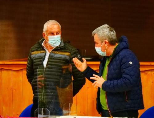 Le Sénateur des Hautes-Alpes,  Jean-Michel ARNAUD, en visite  des Stations à Montgenèvre