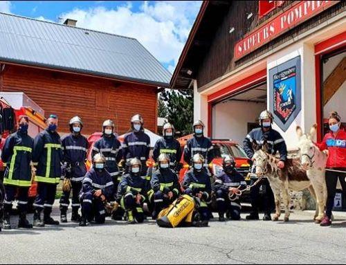 Formation pompiers à Montgenèvre